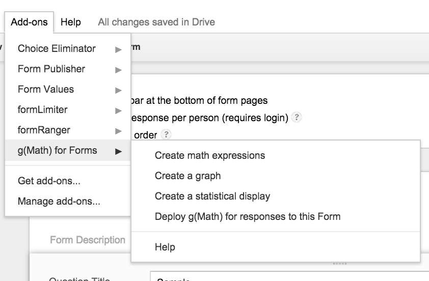 Google Forms Finally Loves Math Set The Hook